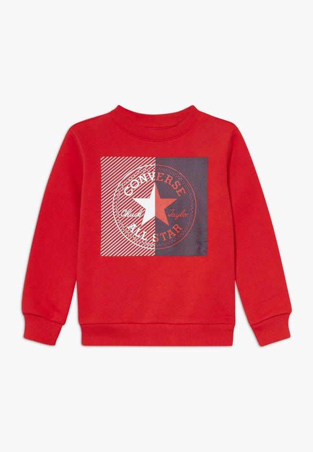 COLOURBLOCK CREW - Mikina - university red