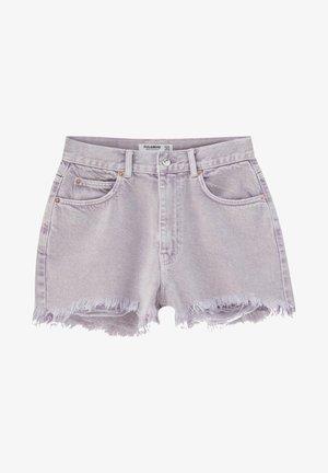Short en jean - purple