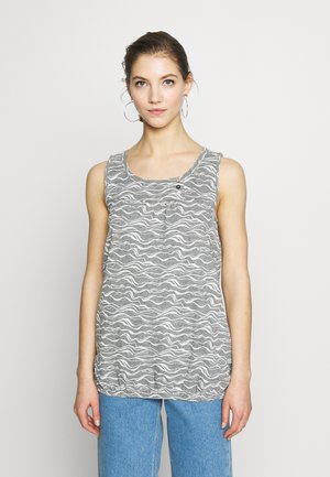 GISELLE ORGANIC - Top - grey