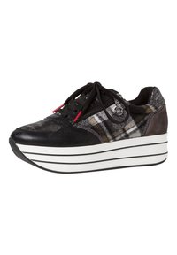 s.Oliver - SNEAKER - Trainers - black comb - 3