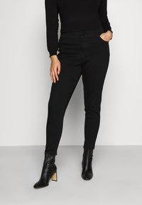 CAPSULE by Simply Be - Skinny džíny - black - 0