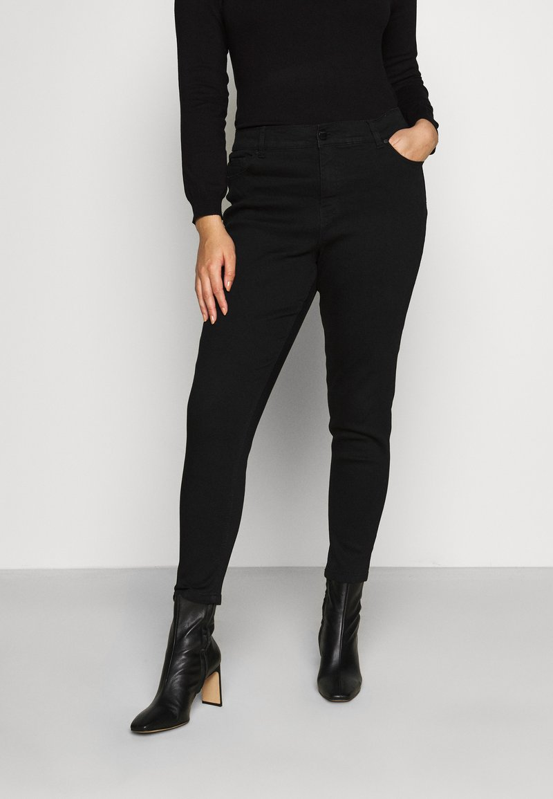 CAPSULE by Simply Be - Skinny džíny - black