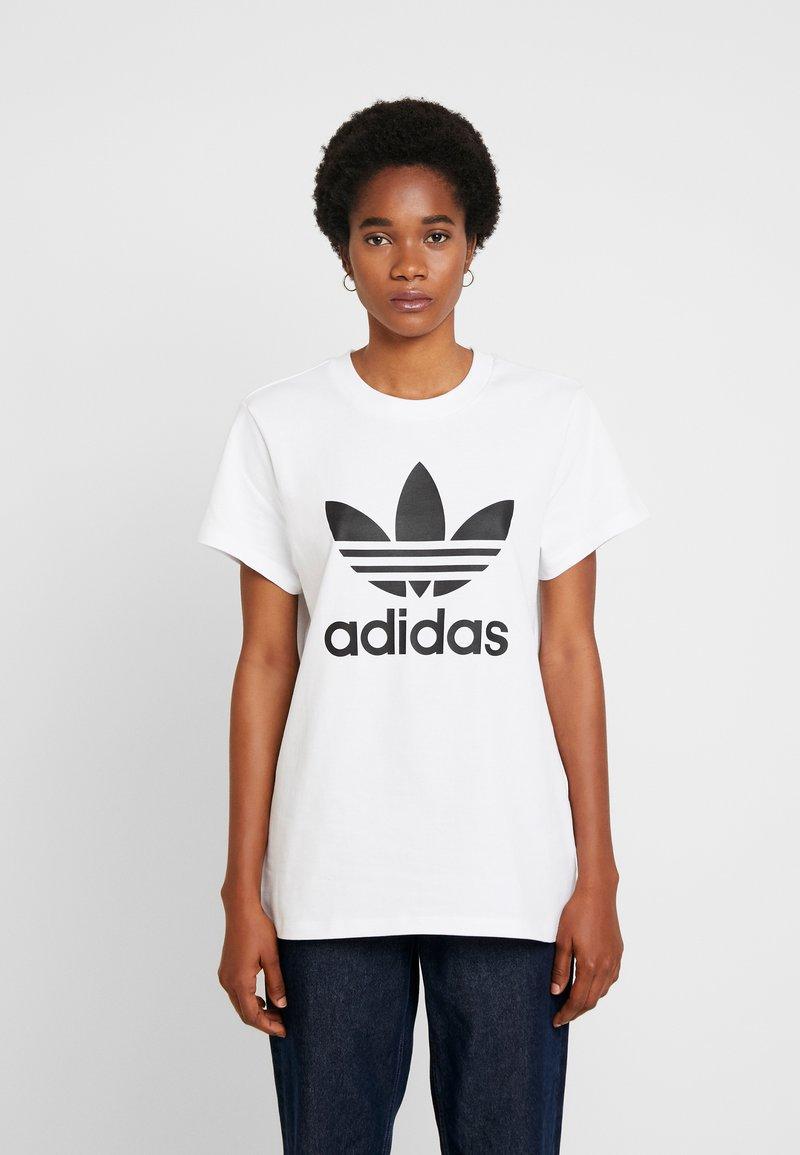 adidas Originals - T-shirt con stampa - white