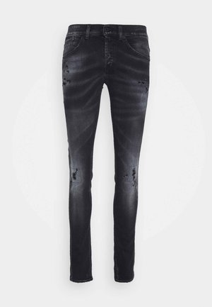 PANTALONE GEORGE - Jeans slim fit - grey denim