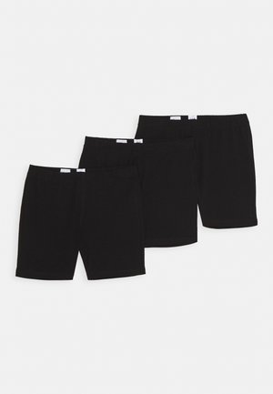 GIRL 3 PACK - Shorts - true black