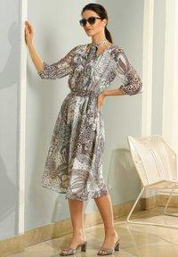 Alba Moda - Day dress - creme,weiß,orange - 4