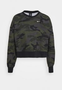 Nike Performance - DRY GET FIT - Sweatshirt - thunder grey/white