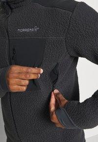 Norrøna - TROLLVEGGEN THERMAL PRO JACKET - Fleece jacket - black - 4