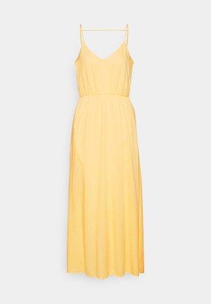 YASSHUMA ANKLE DRESS  - Maxi dress - pale banana