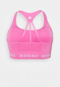adidas Performance - AEROKNIT - Reggiseno sportivo con sostegno leggero - screaming pink - 1