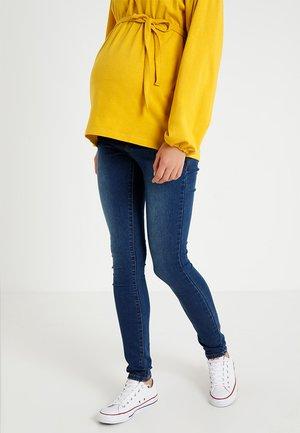 MLLOLA ELASTIC - Jeans slim fit - blue denim