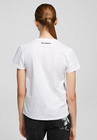 KARL LAGERFELD - Print T-shirt - White - 1
