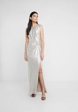 Vestido de fiesta - champagne/silver