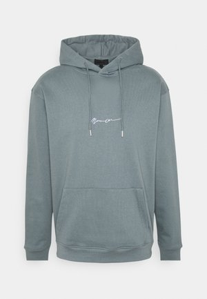 ESSENTIAL SIGNATURE HOODIE UNISEX - Hoodie - dark green