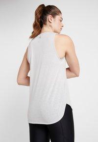 Cotton On Body - ACTIVE CURVE HEM TANK - Top - grey marle - 2