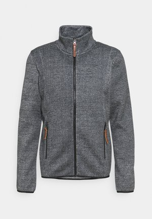 UPTON - Cardigan - lead grey