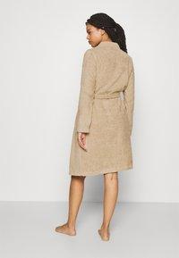 Anna Field - TERRY BATHROBE  - Dressing gown - beige - 2