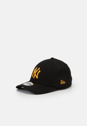 LEAGUE ESSENTIAL 39THIRTY UNISEX - Gorra - black/yellow
