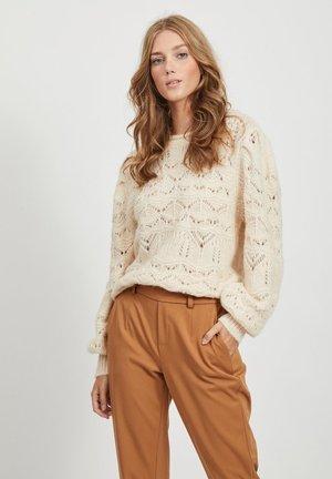 Sweter - sandshell