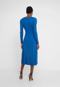 Escada - DAHLIAS - Jersey dress - patchouli blue - 2