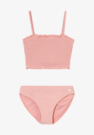 SMOCKED SET - Bikinier - blush