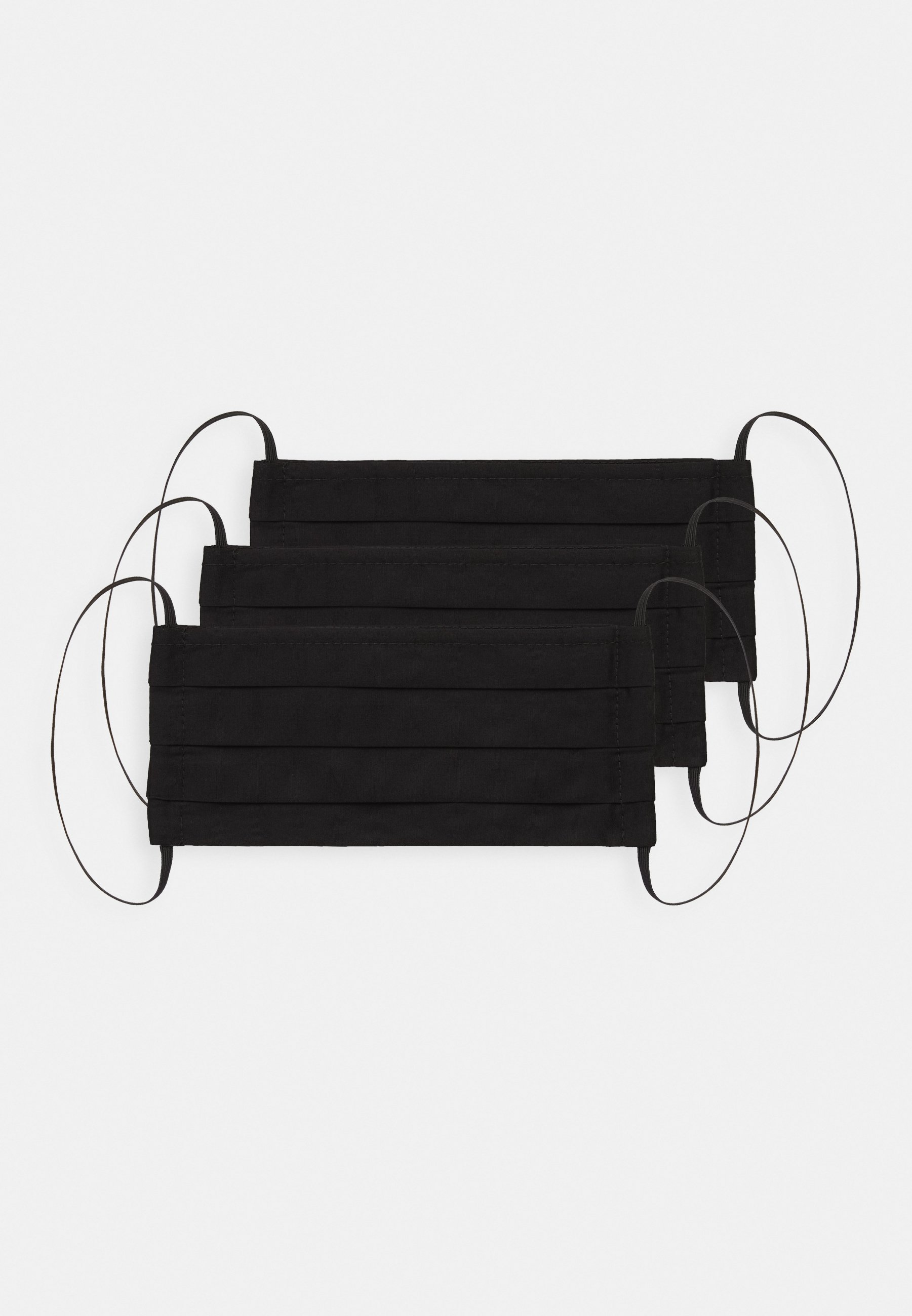 Zign 3 PACK - Munnbind i tøy - black/svart 6aZTwKzVg0exi3k