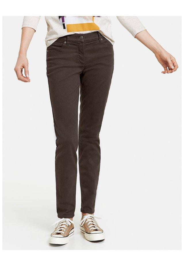 Jeans Skinny Fit - schokolade