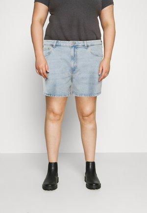 HIGH WAISTED - Jeans Short / cowboy shorts - blue