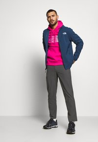 The North Face - NIMBLE HOODIE - Veste softshell - blue wing teal - 1