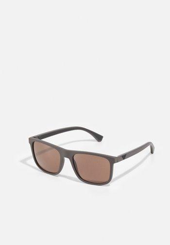 Sunglasses - matte brown