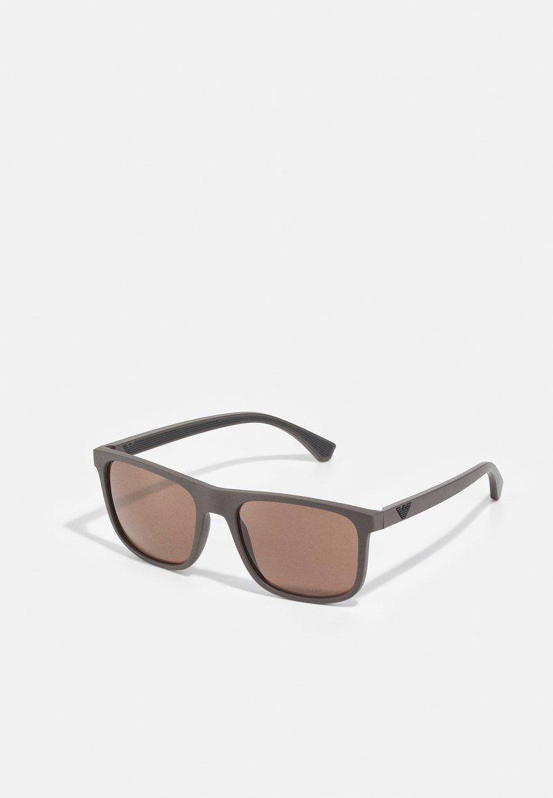 Emporio Armani - Sunglasses - matte brown