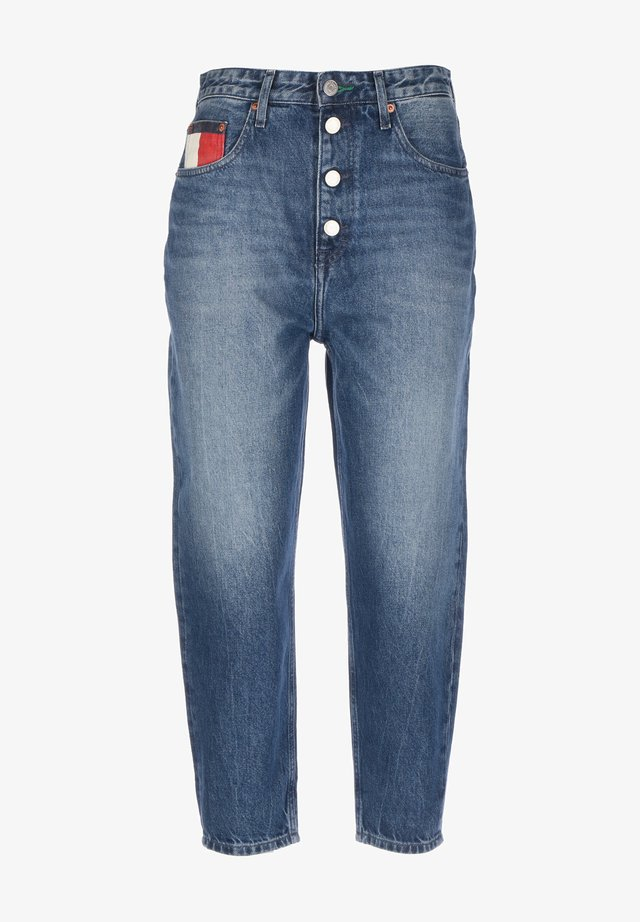 MOM  - Jeansy Relaxed Fit - save pf mid blue rigid