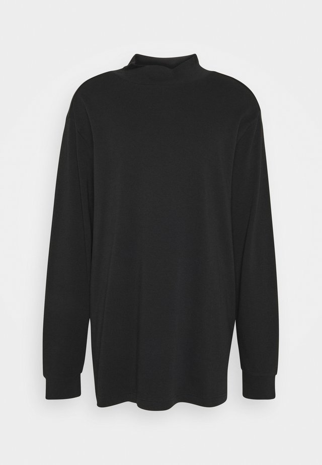 JEROME HIGH NECK - Long sleeved top - black