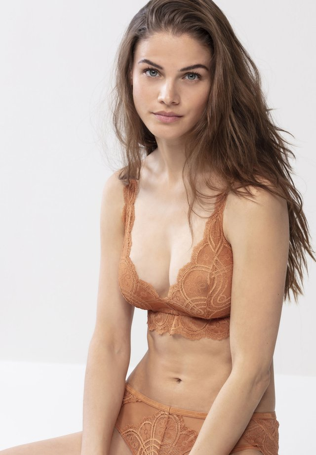 Triangle bra - bronze