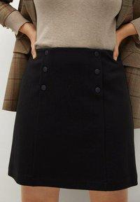 Violeta by Mango - VIVALDI - A-line skirt - schwarz - 0