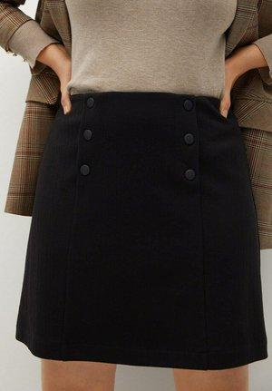 VIVALDI - A-line skirt - schwarz