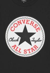 Converse - CHUCK PATCH GRAPHIC - T-shirt imprimé - black - 2