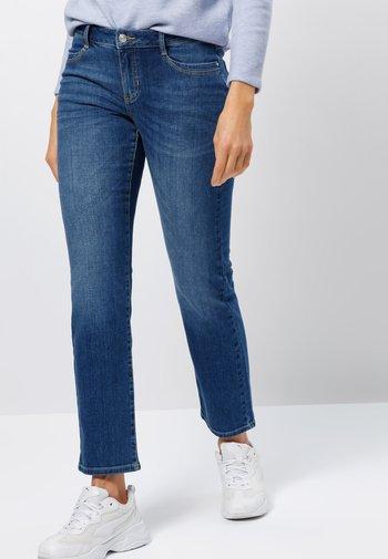 Slim fit jeans - mid blue stone wash
