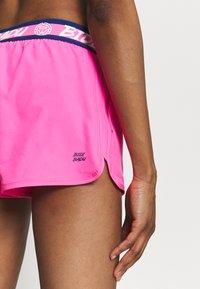 BIDI BADU - TIIDA TECH SHORTS - Sportovní kraťasy - pink/dark blue - 4
