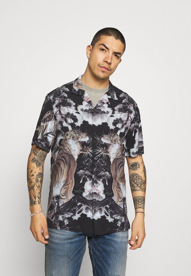 GOBI SHIRT - Overhemd - jet black