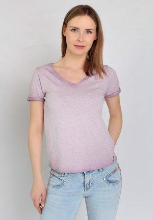 Basic T-shirt - grape