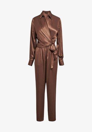 Jumpsuit - dark brown