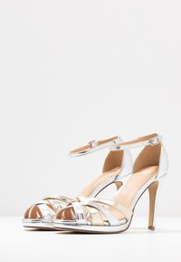 Steven New York - CACY - High heeled sandals - silver/gold - 4