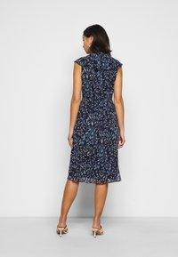 Lauren Ralph Lauren Petite - MARIKA  SLEEVE DAY DRESS - Day dress - navy blue - 2
