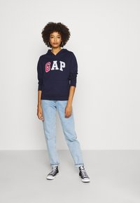 GAP - NOVELTY FILL - Hoodie - navy uniform