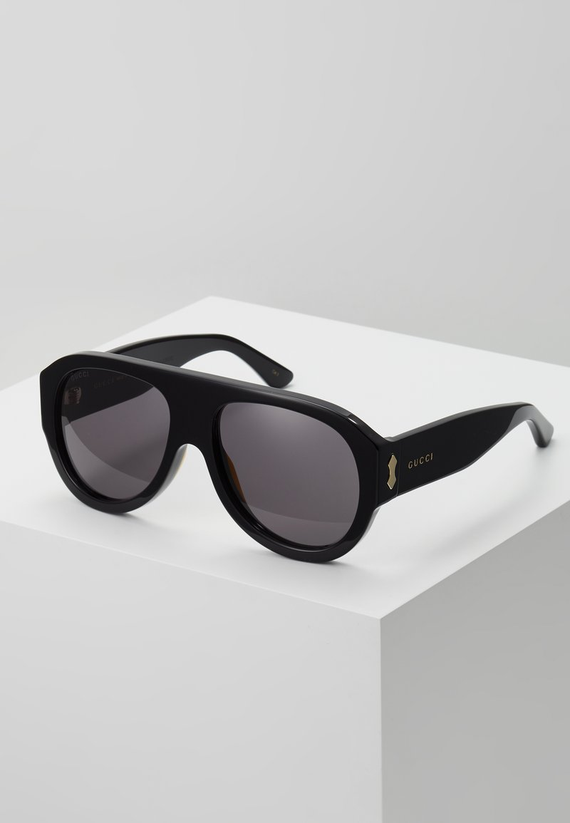 Gucci - Solbriller - black/black/grey