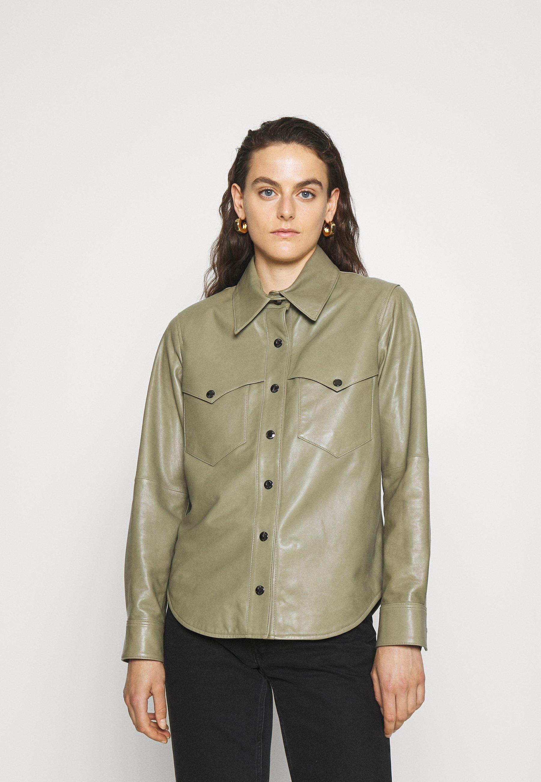 Women MAUDE VINTAGE - Leather jacket