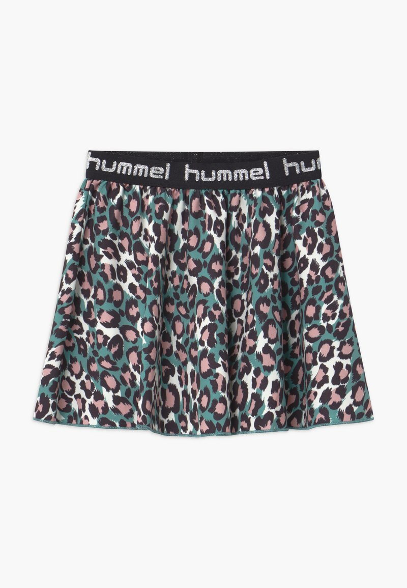 Hummel - NANNA - A-line skirt - oil blue