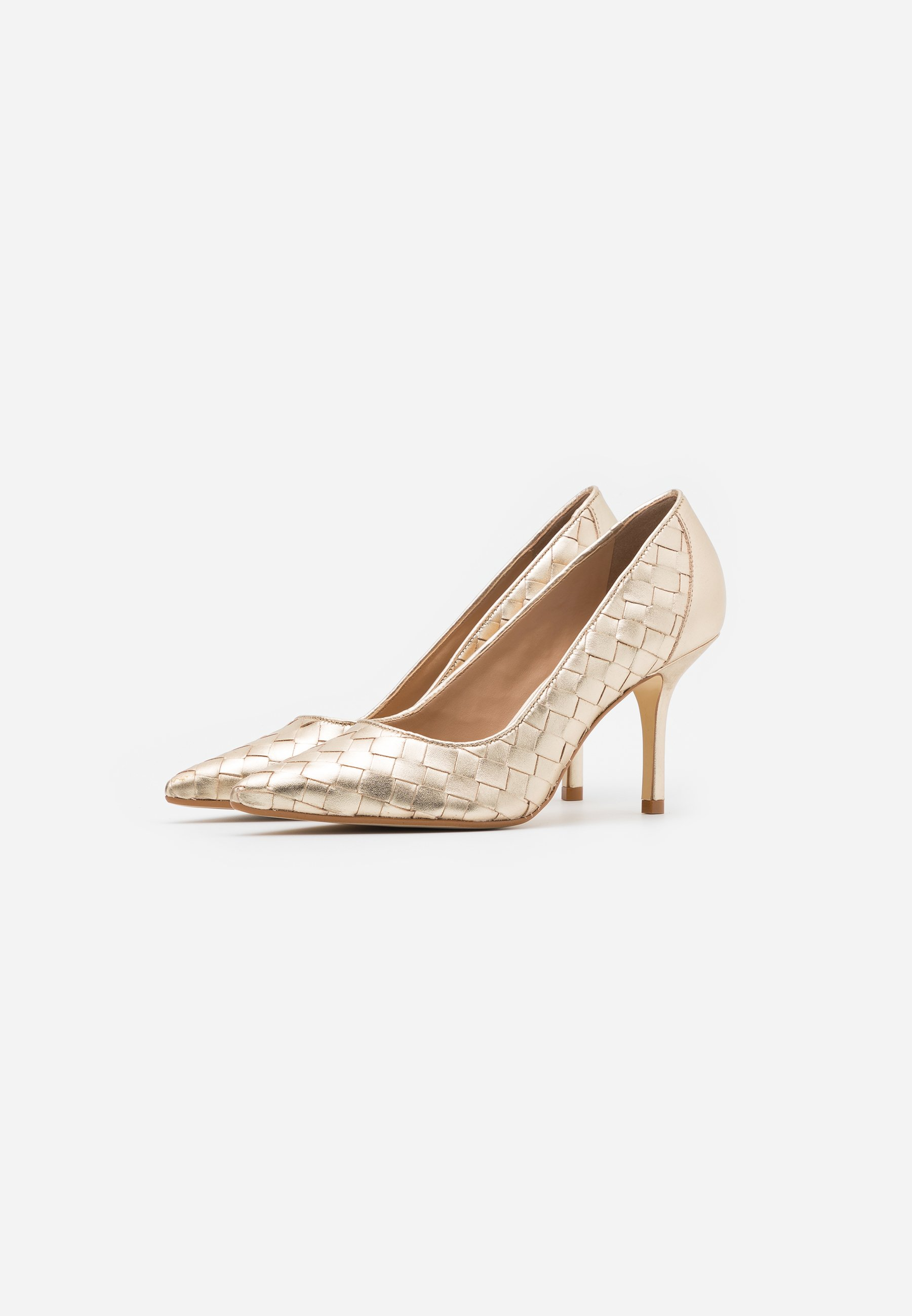Dune London BOWE Pumps gold/gold
