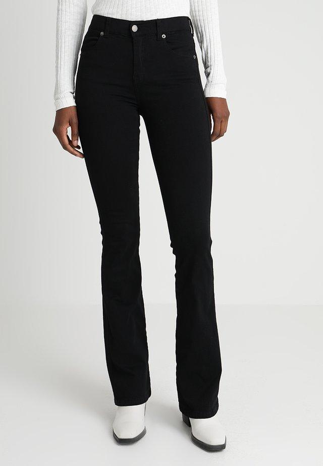 SONIQ - Jean bootcut - black